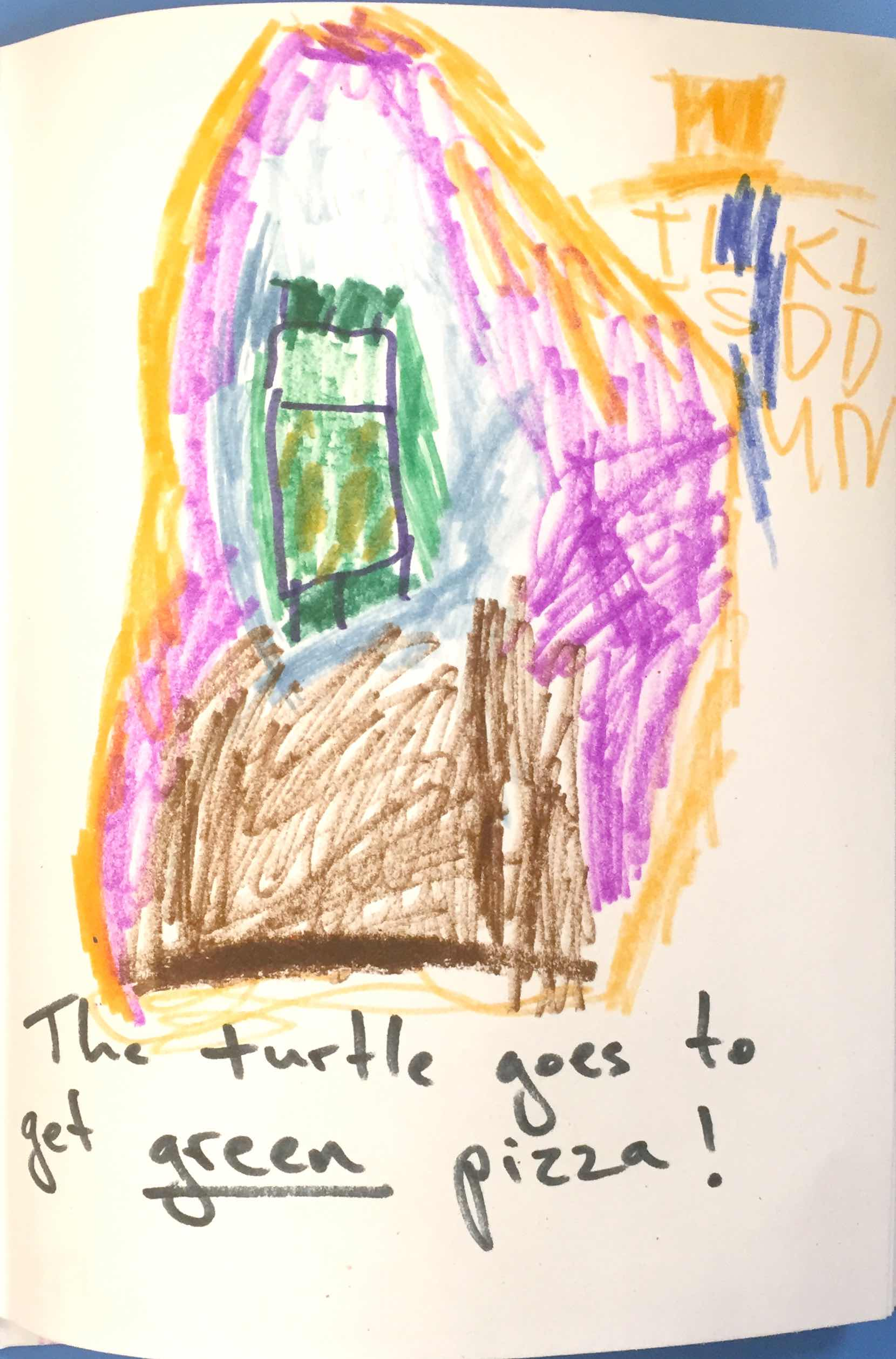 Sing Me A Story Stories The Turtle Goes To Get Pizza
